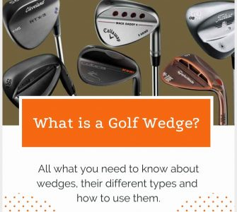 golf wedge and types